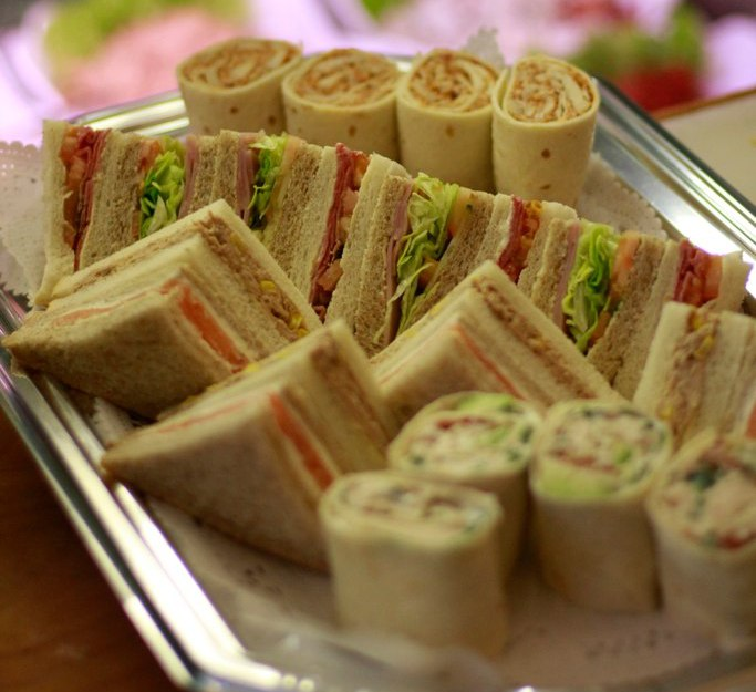 Sandwich platter - Spreads Cafe menus
